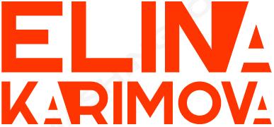 Elina Karimova Official Website Logo